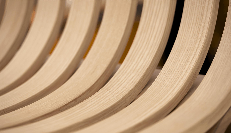chaise ergonomique intérieur mobilier structure oeuvre d'art bois